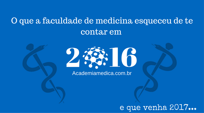 Top 12 do Academia Médica em 2016
