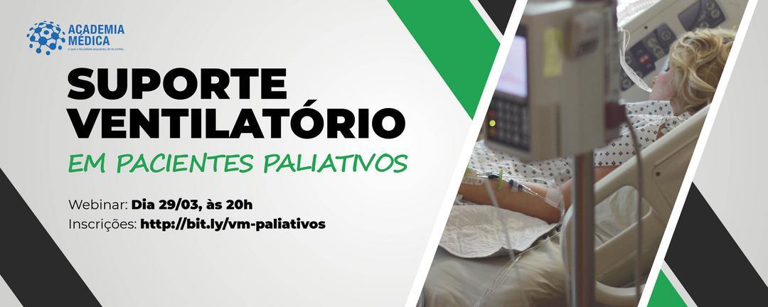 Suporte ventilatório em pacientes paliativos