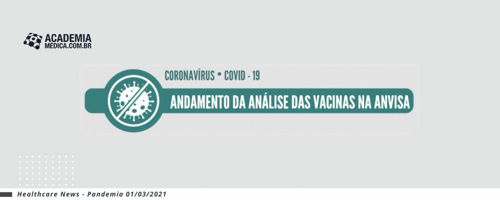 Anvisa divulga comparativo entre vacinas
