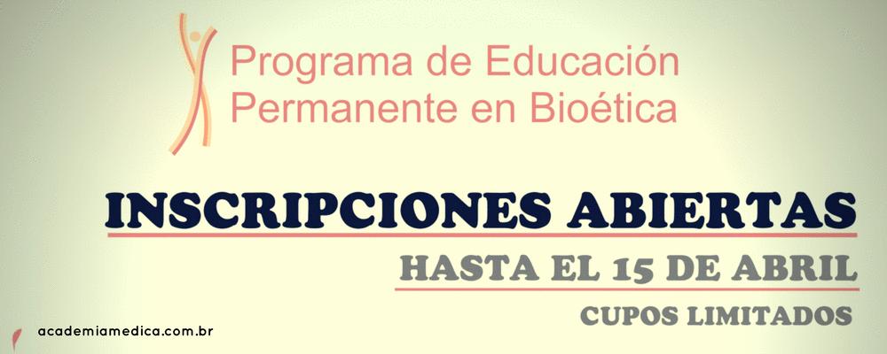RedBioética abre inscrições para o Programa de Educação Permanente em Bioética