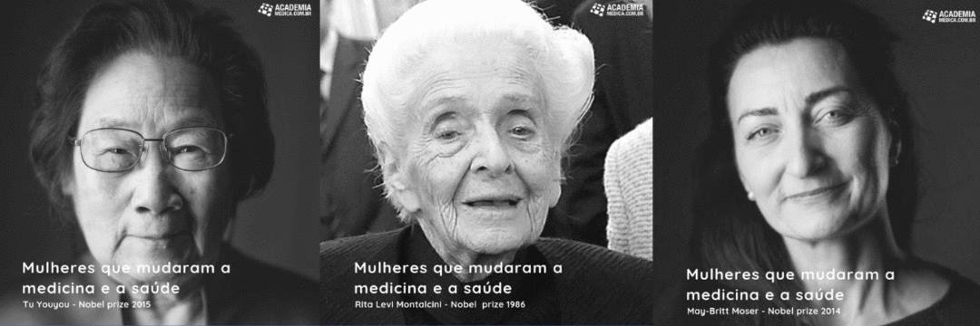 Mulheres que ganharam o Nobel de Medicina e Fisiologia