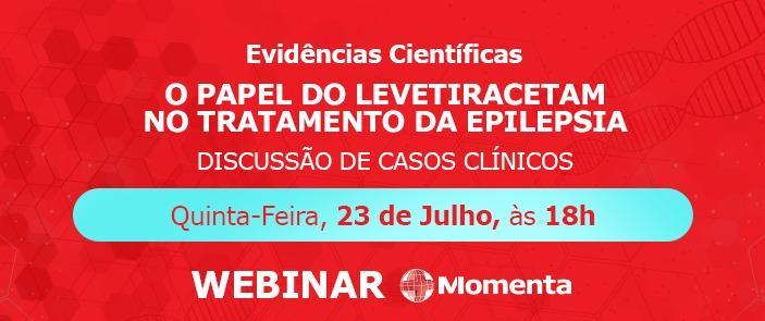Webinar - O PAPEL DO LEVETIRACETAM NO TRATAMENTO DA EPILEPSIA - Discussão de casos clínicos