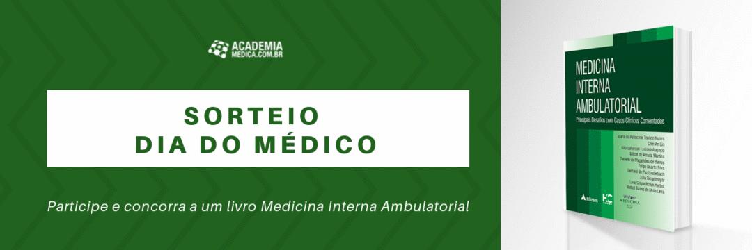[FINALIZADO] Sorteio do livro Medicina Interna Ambulatorial