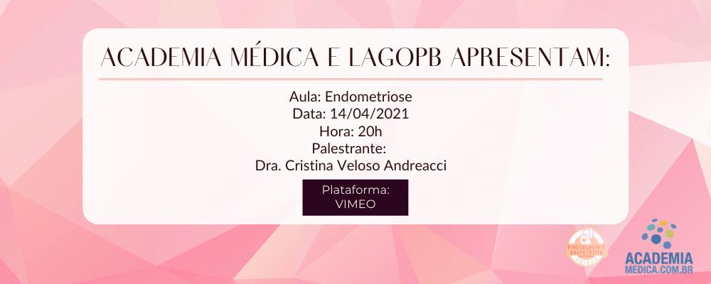 Aula gratuita sobre endometriose da LAGOPB e academia médica