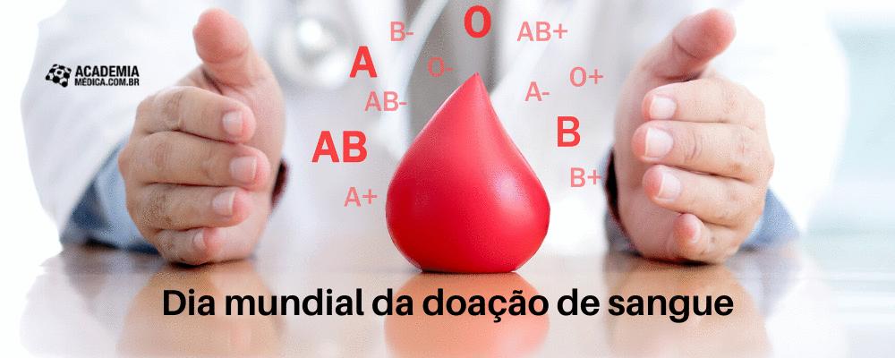 Dia mundial da doação de sangue