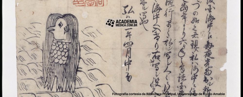 Amabié: o papel do folclore japonês durante a pandemia da COVID-19