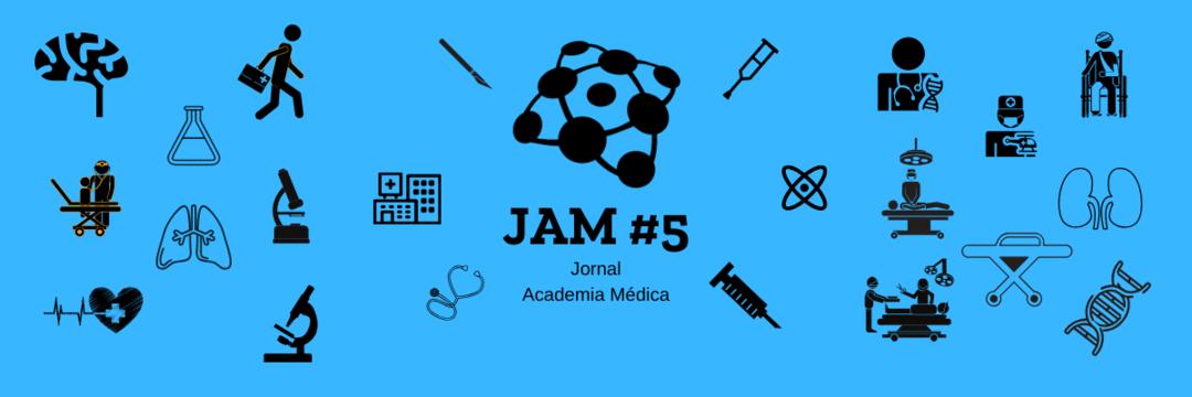 JAM nº5 - top 50 artigos científicos; melhor meme, vídeo e podcast para Médicos e Prof da saúde
