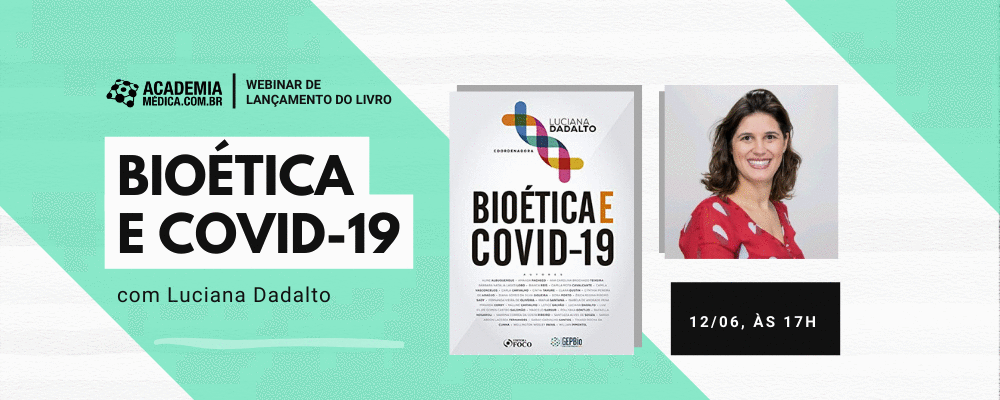 Webinar gratuito: Lançamento do livro Bioética e Covid-19