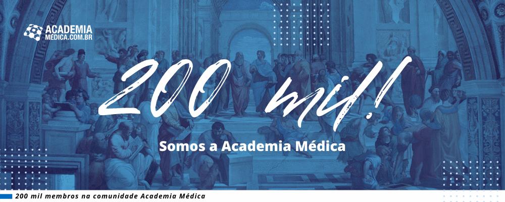 200 mil! Somos a Academia Médica