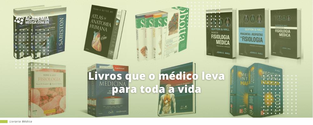 Livros que o médico leva para toda a vida