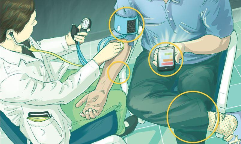 Apenas 1 em cada 159 estudantes de medicina acerta ao aferir a pressão