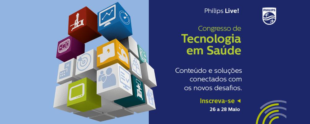 Philips promove congresso digital para profissionais de saúde do Brasil e do Mundo