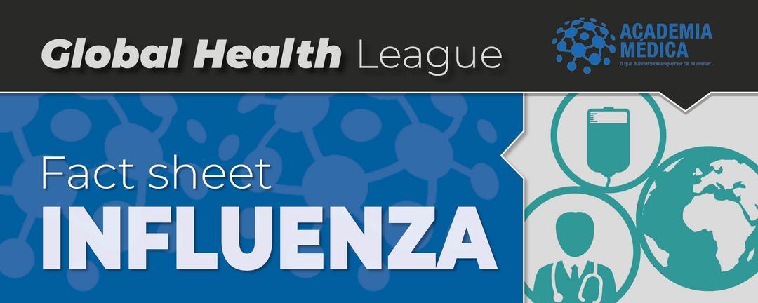 Infográfico sobre Influenza e H3N2