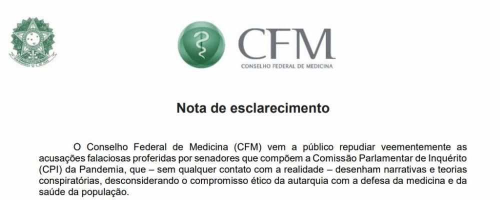 De forma autônoma, CFM se isenta de responsabilidade do caso Prevent Senior