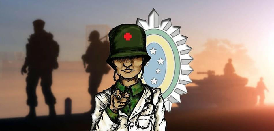 O Médico Militar de Carreira