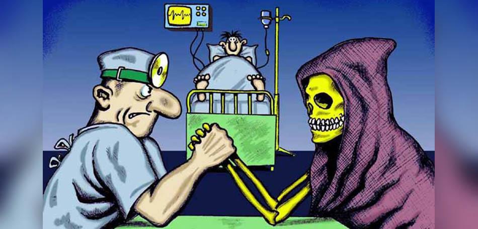 Vale a pena brigar com a morte?