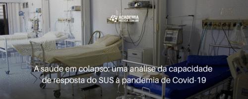 A saúde em colapso: uma análise da capacidade de resposta do SUS à pandemia de Covid-19