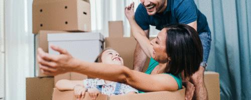 Como identificar e diminuir o estresse da mudança de lar em crianças