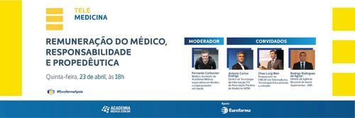 Telemedicina: Remuneração do médico, Responsabilidade e Propedêutica