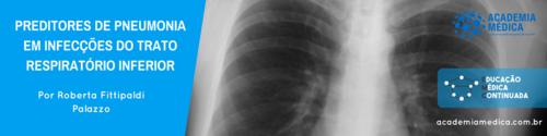 Preditores de pneumonia em infecções do trato respiratório inferior
