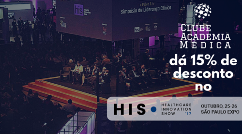 Healthcare Innovation Show - Desconto especial Academia Médica