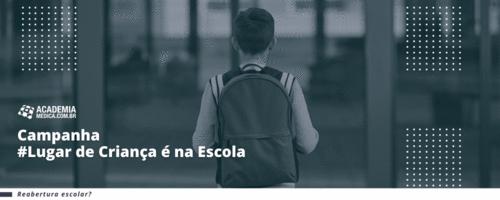 Campanha #LugardeCriançaénaEscola