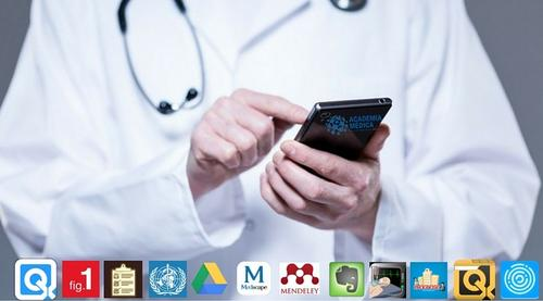 Os 12 apps que não podem faltar celular do médico