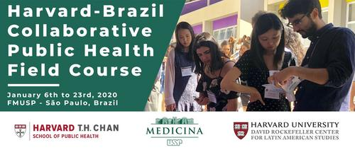 Harvard-Brazil 2020 Public Health Collaborative Course in Brazil