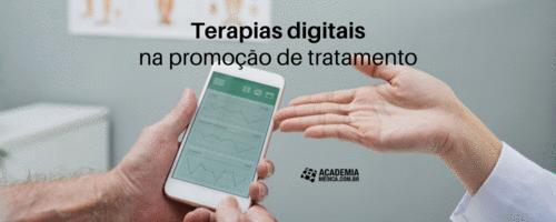 Terapias digitais para promover o tratamento de pacientes