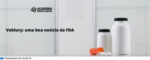 Veklury: uma boa notícia da FDA