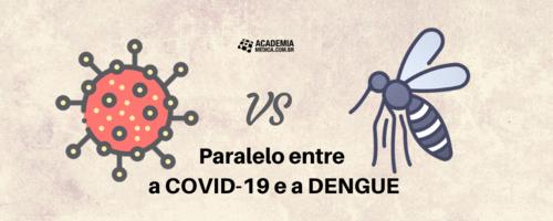 Paralelo entre a COVID-19 e a DENGUE