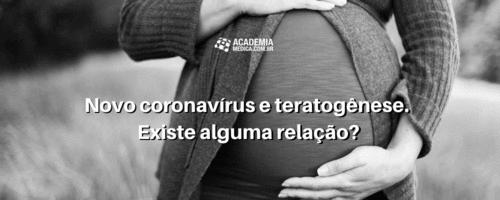 Novo coronavírus e teratogênese. Existe alguma relação?