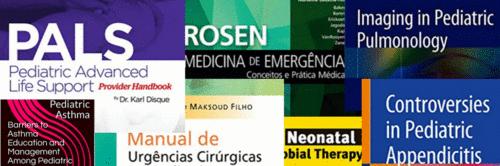 Livros de Urgência/Emergência e Trauma em Pediatria