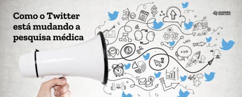 Como o Twitter está mudando a pesquisa médica