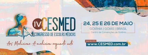 IV CESMED - Congresso Goiano de Escolas Médicas - de 24 a 26 de maio