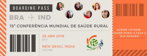 Conferência Mundial de Saúde Rural, aí vamos nós!