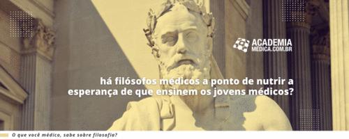 A Busca do Médico pela Filosofia