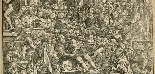 Os primeiros estudos anatômicos: Vesalius